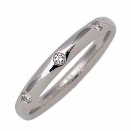 Van Cleef & Arpels Tendrement Etoiles Platinum 3 Diamond Size 6.5