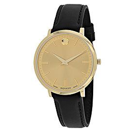 Movado Ultra Slim 607157 35mm Womens Watch