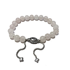 David Yurman Spiritual Beads Bracelet with Rose Quartz