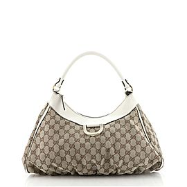Gucci D Ring Hobo GG Canvas Large