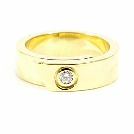 Cartier 18K Yellow Gold Diamond Anniversary Ring CHAT-126