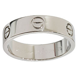 Cartier 950 Platinum Love Ring Size 8.75