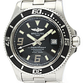 Polished BREILING Superocean 44 Steel Automatic Mens Watch A17391
