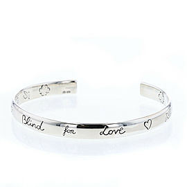 GUCCI 925 Silver Bangle TBRK-486