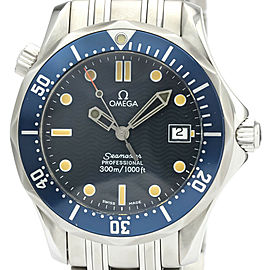 Polished OMEGA Stainless steel Seamaster Professional 300M Watch
