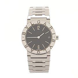 Bvlgari Diagono Quartz Watch Stainless Steel 30