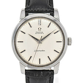 OMEGA Vintage Seamaster Cal.552 SS/Laether Automatic Men's Watch