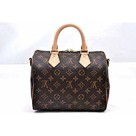 Louis Vuitton Monogram Speedy Bandouliere 25 Hand Bag M40390 LV A0575