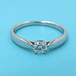 TIFFANY & Co. 950 platinum Harmony Solitaire Ring