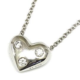 TIFFANY&Co. Platinum Diamond Necklace