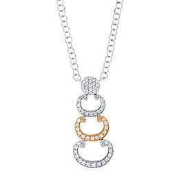Alor 18K Rose Gold & White Gold Necklace