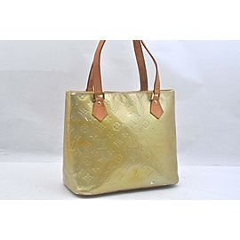Louis Vuitton Vernis Houston Shoulder Bag Yellow LV 99599