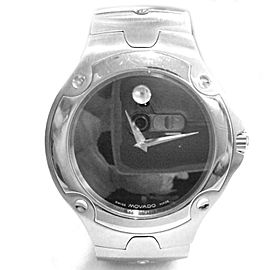 Movado 84 G1 1892 SE 40mm Stainless Steel Watch