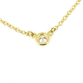 Tiffany & Co. 18K Yellow Gold Diamond By The Yard Necklace CHAT-171