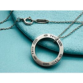 TIFFANY & Co. silver 1837 Circle Round necklace