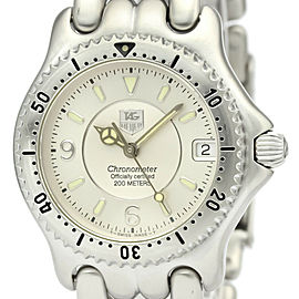 Polished TAG HEUER Sel Chronometer Steel Automatic Unisex Watch WG5212