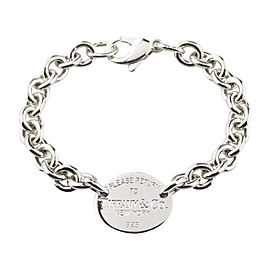 Tiffany & Co. Please Return To Tiffany Oval Tag Bracelet