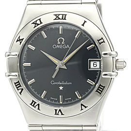 Polished OMEGA stainless Steel Constellation Watch HK-2040