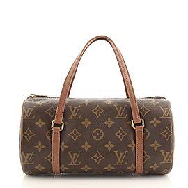 Louis Vuitton Papillon Handbag Monogram Canvas 26
