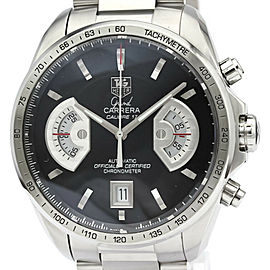 Polished TAG HEUER Grand Carrera Calibre 17 RS Automatic Watch CAV511A