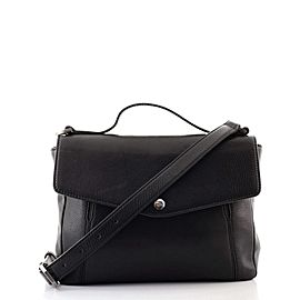 Bvlgari Convertible Envelope Flap Briefcase Leather Medium