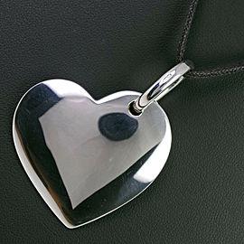 POMELLATO Cowhide/Silver DoDo Heart Pendant Necklace