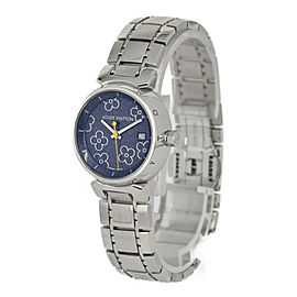 LOUIS VUITTON Tambul PM Q121B purple Dial Quartz Ladies Watch