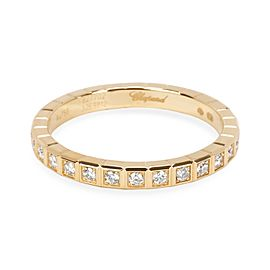 Chopard Ice Cube Diamond Eternity Ring in 18KT Yellow Gold 0.31