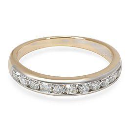 Tiffany & Co. Lucida Diamond Wedding Band in 18K Gold & Platinum (0.55 CTW)