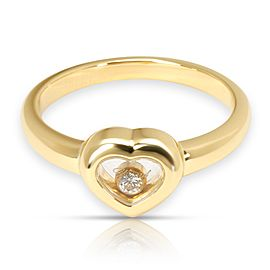 Chopard Happy Hearts Diamond Ring in 18K Yellow Gold (0.05 )