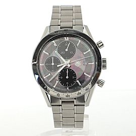 Tag Heuer Carrera Chronograph Automatic Watch Stainless Steel 41