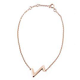 Louis Vuitton LV Volt Upside Down Bracelet 18K Pink Gold