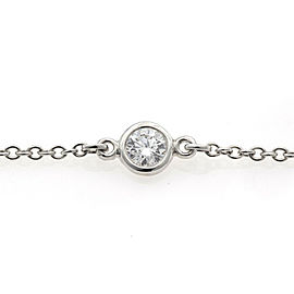 TIFFANY & Co. Platinum Diamond By the Yard Diamond Bracelet CHAT-892