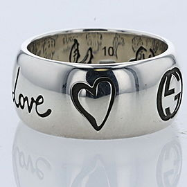 GUCCI Silver925 Blind For Love Ring TBRK-392