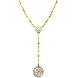 Buddha Mama 20K Yellow Gold & Diamonds Dharma Rosary Necklace