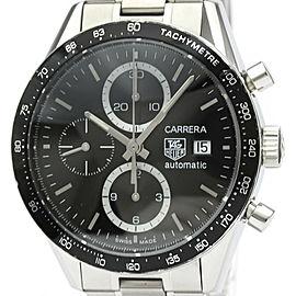 Polished TAG HEUER Carrera Chronograph Steel Automatic Watch CV2010