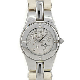 Baume & Mercier Linea MOA08164 diamond Silver Dial Quartz Ladies Watch