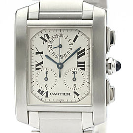 CARTIER Tankfrancaise Chronoreflex Quartz Mens Watch W51001Q3