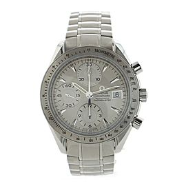Omega Speedmaster Date Chronograph Chronometer Automatic Watch Stainless Steel 40