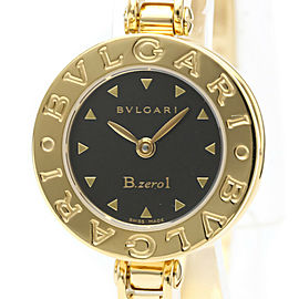 Polished BVLGARI B-Zero1 18K Gold Quartz Ladies Watch BZ22G