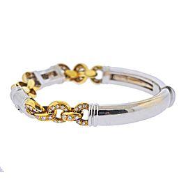 Diamond Gold Link Bracelet