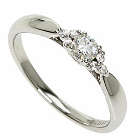 TIFFANY & Co. PT950 Platinum Harmony Diamond Ring TNN-2012