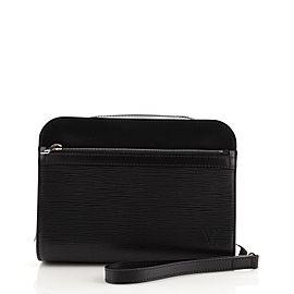Louis Vuitton Hoche Clutch Epi Leather