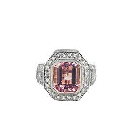 Sonia Bitton Pink Tourmaline & Diamonds Ring
