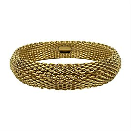 Tiffany & Co. 18k Yellow Gold Somerset Flexible Mesh Bracelet