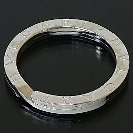 BVLGARI BULGARI Logos Key Chain Ring