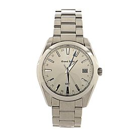 Grand Seiko Heritage GMT Quartz Watch Stainless Steel 40