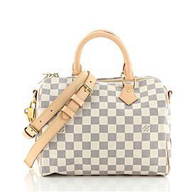 Louis Vuitton Speedy Bandouliere Bag Damier 25