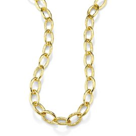 Ippolita Hammered 18K Yellow Gold Necklace