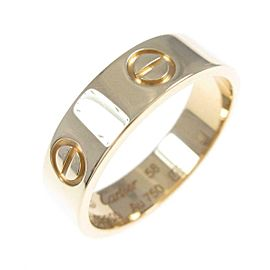 Cartier 18K Yellow Gold Love ring TkM-109